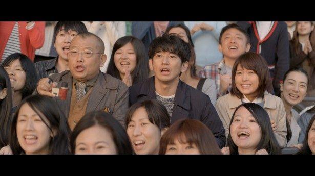 JRAの新CM「『あなたの競馬が走り出す。』春篇」に瑛太、有村架純、笑福亭鶴瓶が出演