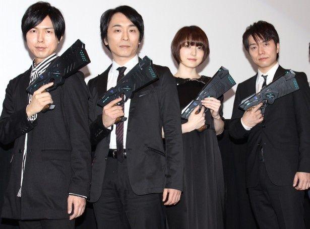 『劇場版 PSYCHO-PASS サイコパス』の初日舞台挨拶が開催!