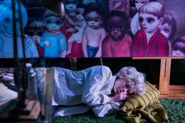"""マーガレット・キーンが手がけた大きな目をした子供たちを描いた""""ビッグ・アイズ""""シリーズは強烈な個性を放つ"""