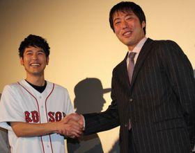 妻夫木聡、上原浩治投手との初対面に感激!「野球は楽しい?」と直球質問
