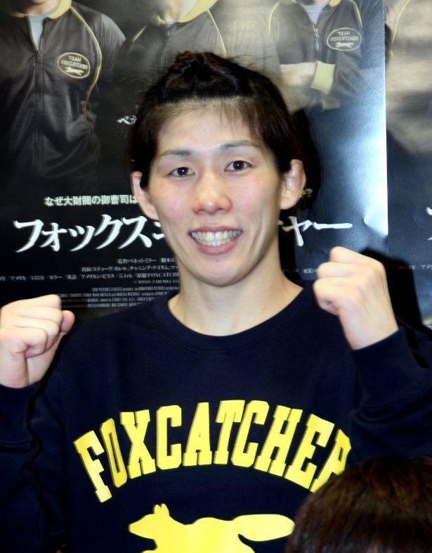 オリンピック 3 大会連続金メダリストの吉田沙保里選手