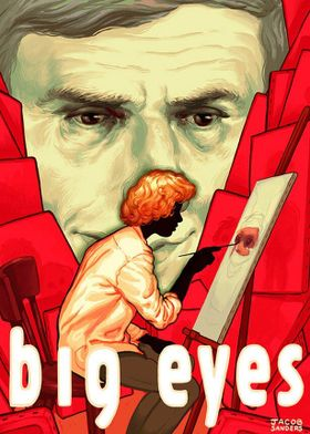 著名アーティストらが映画『ビッグ・アイズ』を絵で表現!