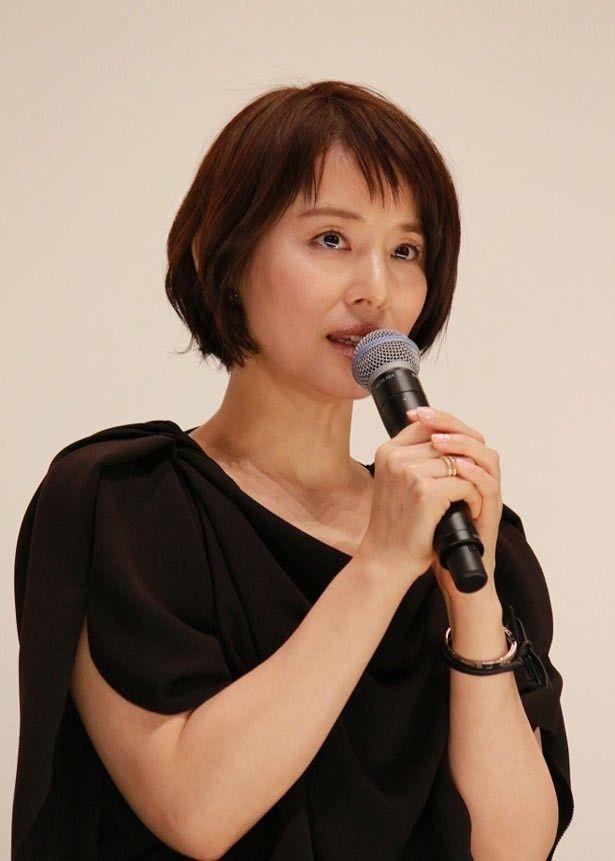 原作が好きで倖世役に立候補した石田ゆり子