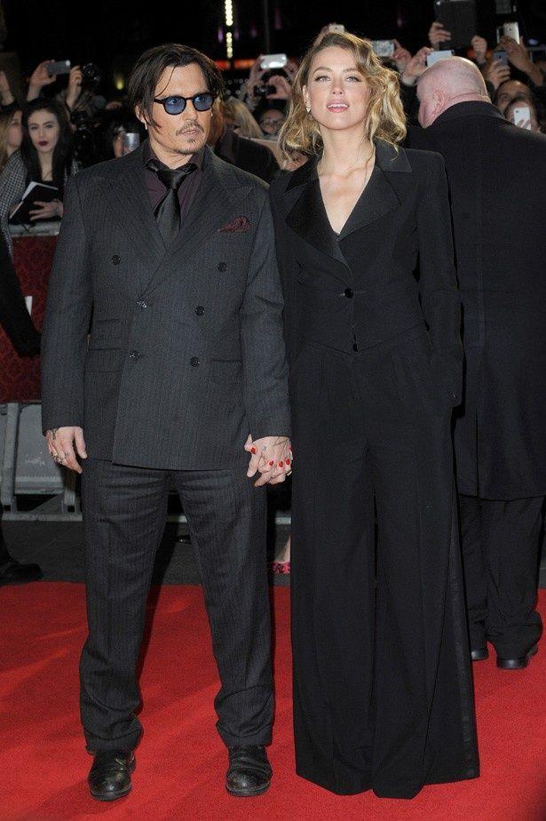 すでに結婚しているのではないかと噂されるジョニー・デップとアンバー・ハード