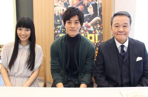 『マエストロ!』の松坂桃李、miwa、西田敏行を直撃!