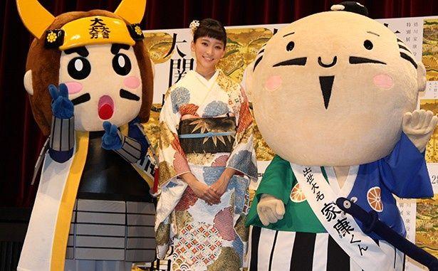 """自他ともに認める""""歴女""""である杏は「大 関ヶ原展」のスペシャルサポーターに就任した"""