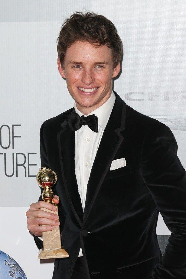 今年のゴールデングローブ賞(ドラマ部門)で主演男優賞を受賞したエディ・レッドメイン