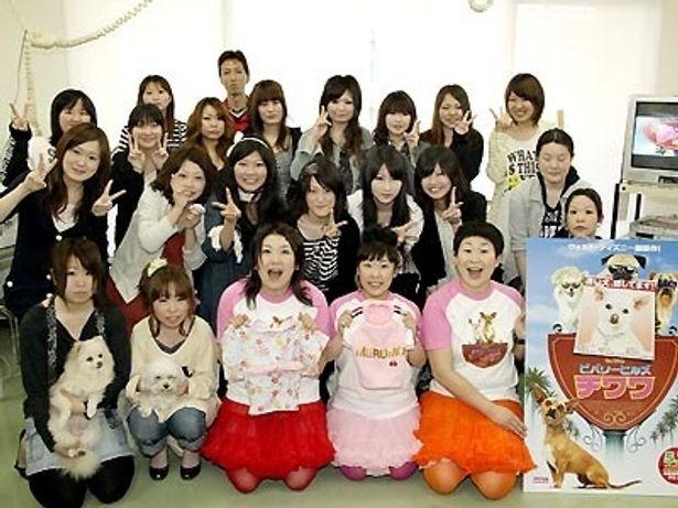"""NAGOYA DOGS COLLECTION 2009""を手がける学生たちと"