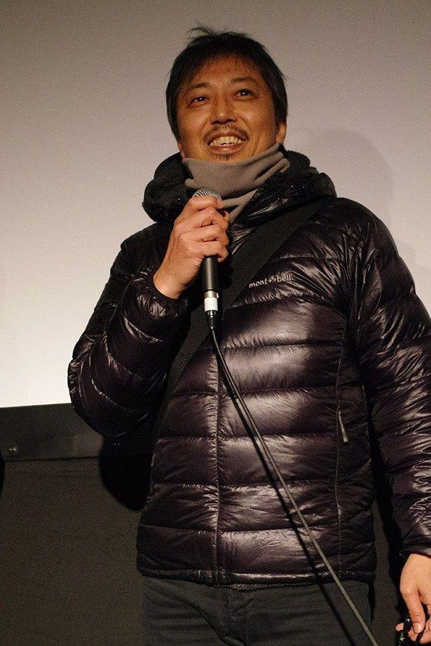 北海道には撮影でよく訪れるというバクシーシ山下監督