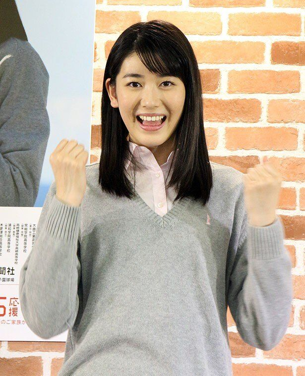 センバツ応援イメージキャラクターに任命された小澤奈々花