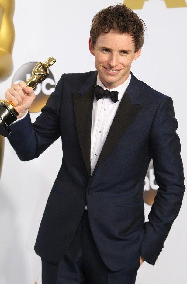 アカデミー賞主演男優賞を受賞したばかりのエディ・レッドメイン