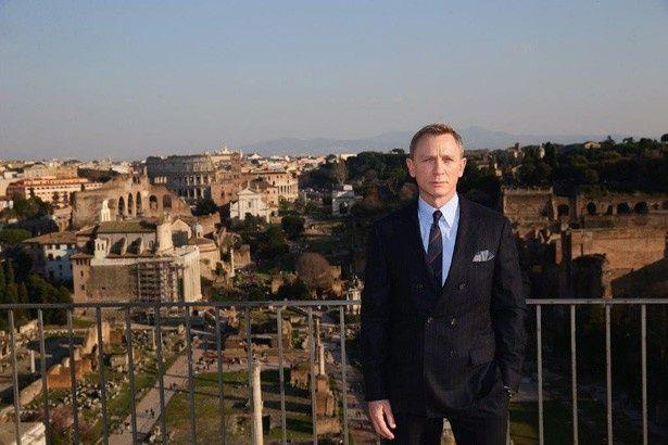 各地で撮影が行われている『007 スペクター』