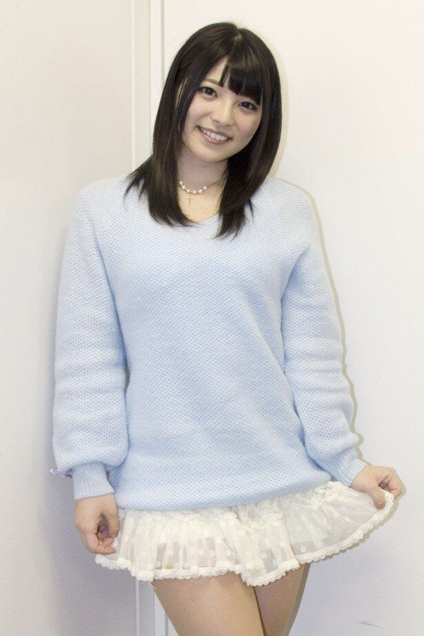 「キス我慢THEMOVIE2」のヒロイン・亜衣役を演じた上原亜衣。本作が映画2作目の出演となる