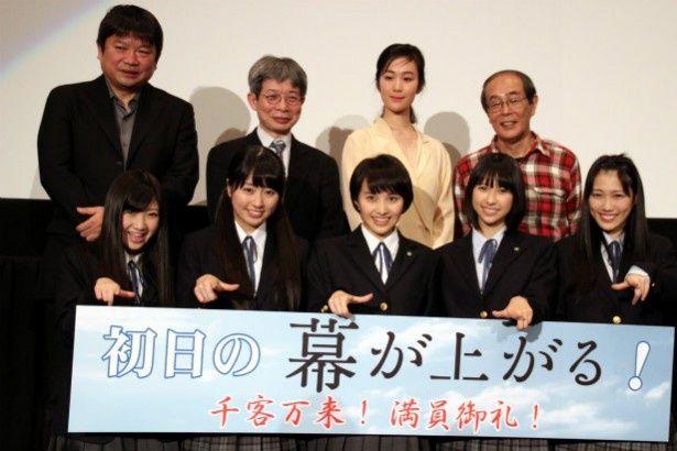 ももクロ主演映画『幕が上がる』が公開!