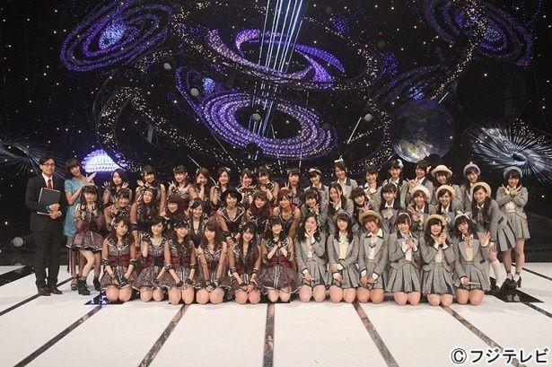 SKE48とNMB48が新曲を連続でパフォーマンス
