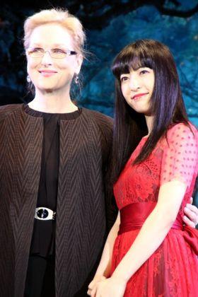 メリル・ストリープ、神田沙也加の生歌を大絶賛