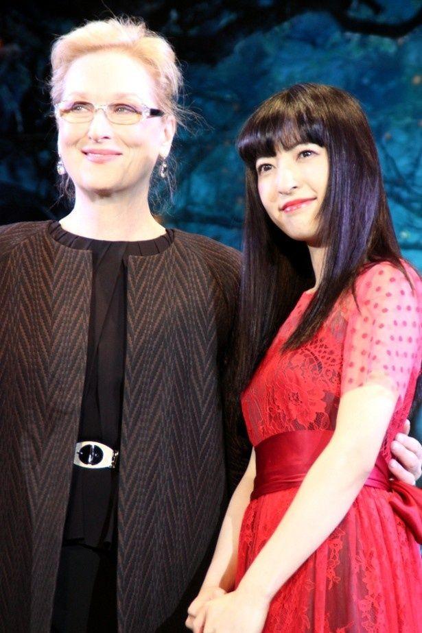 メリル・ストリープが神田沙也加の歌を絶賛