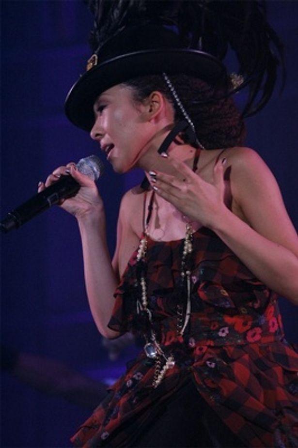 MISIAの歌声に台湾の観客もすっかり引き込まれていた…