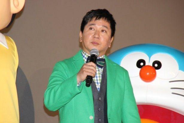 爆笑問題・田中裕二、のび太のでかさにびっくり