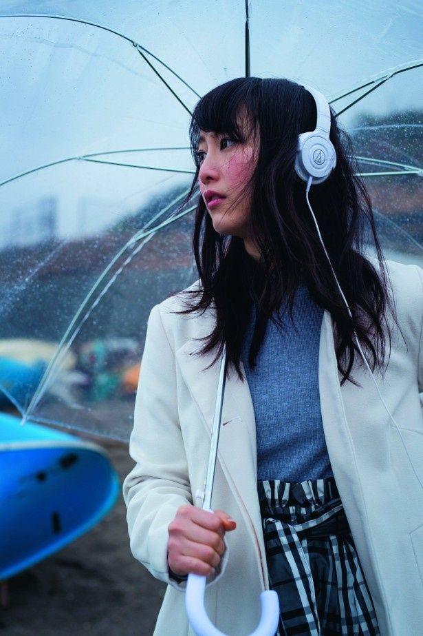 「週刊ジョージア 特別号」で失恋をテーマにしたグラビアに挑んだ松井玲奈(SKE48/乃木坂46)