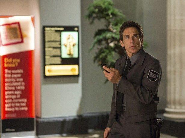 ベン・スティラーが演じる夜警のラリーも本作で見納め