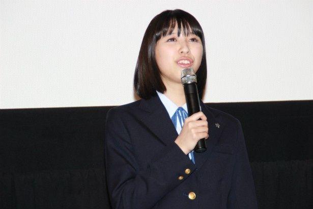 演劇部の副部長・橋爪裕子役の玉井詩織