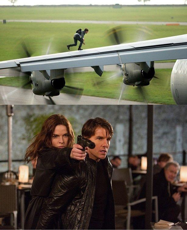 今作でトム演じるイーサン・ハントは最大のミッションに挑む!