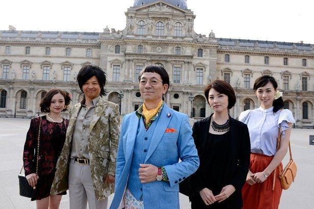 スクリーンに華を添える『王妃の館』の美女たちに注目!