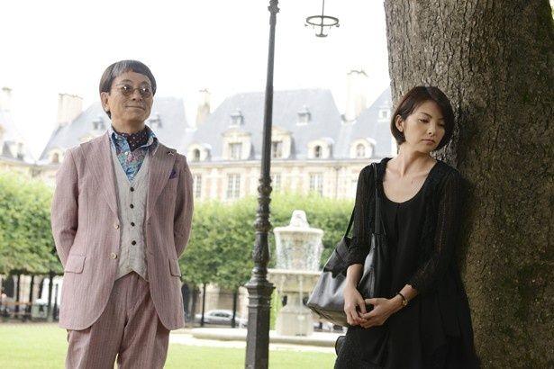 田中麗奈は仕事テキパキこなす、気の強い女社長役