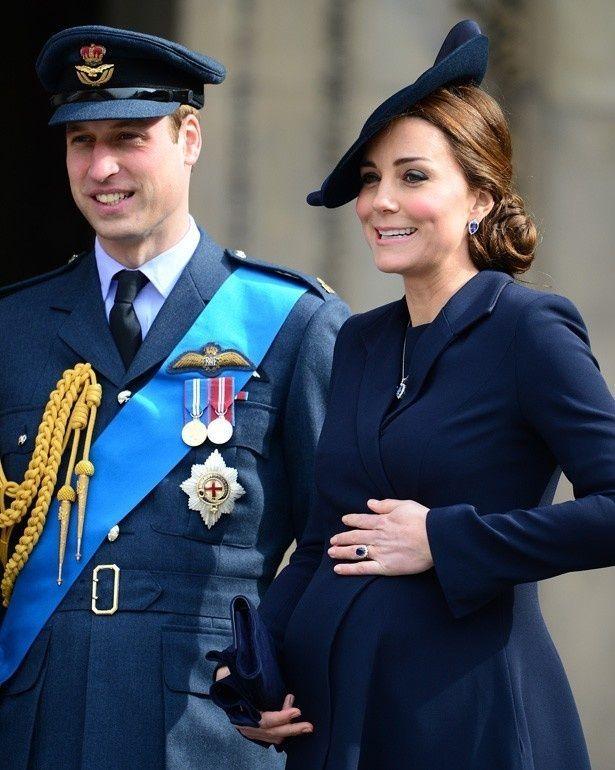 もうすぐ第二子を出産するキャサリン妃