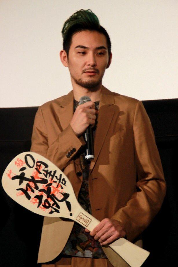 虫が苦手だと告白した松田龍平
