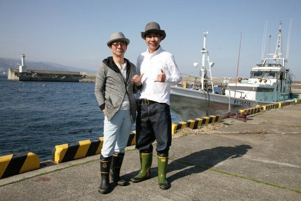 プライベートでも親交があるという水谷豊(写真左)と木梨憲武(写真右)がドライブ旅へ!