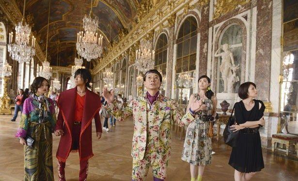 邦画では初となるヴェルサイユ宮殿で撮影を敢行!