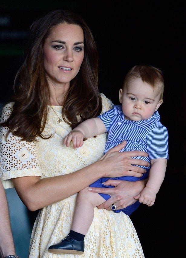 かしこく育っているというジョージ王子
