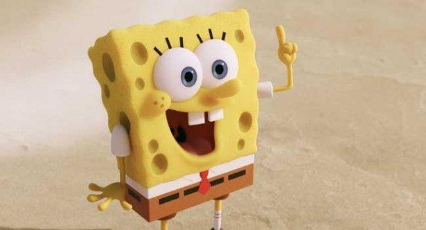 笑い方も特徴的な海綿くんのスポンジ・ボブ
