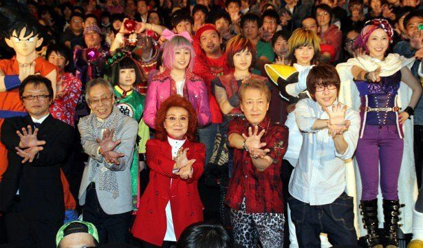 『ドラゴンボールZ 復活の「F」』の初日舞台挨拶が大盛況!