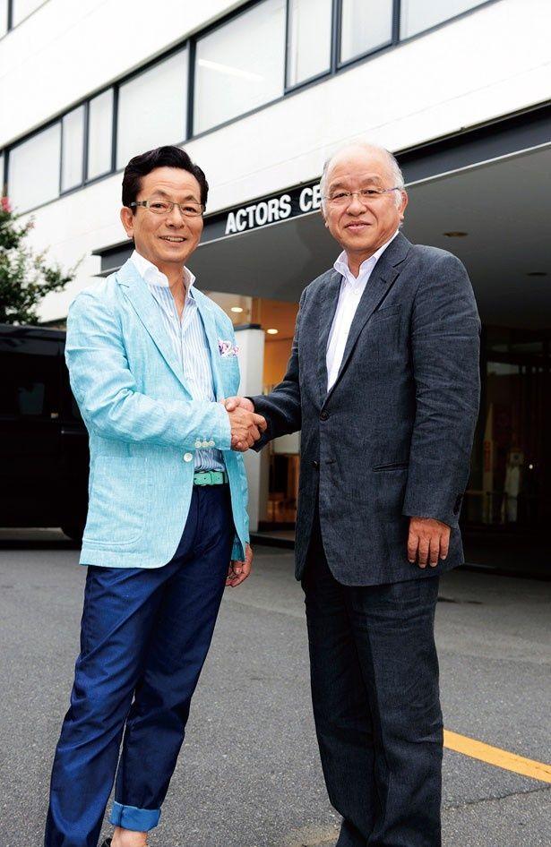 「北白川右京役として水谷豊がキャスティングされたことも感心した」と話す浅田次郎