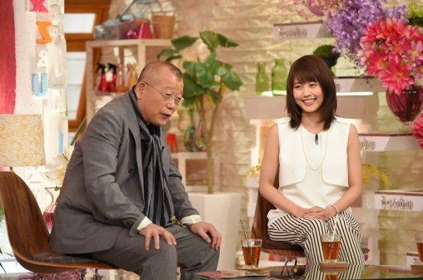 5月1日(金)放送の「A-Studio」(TBS系)のゲストに有村架純が登場