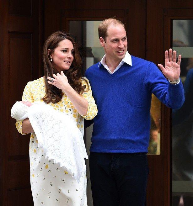 5月2日にウィリアム王子とキャサリン妃の第二子シャーロット王女誕生!