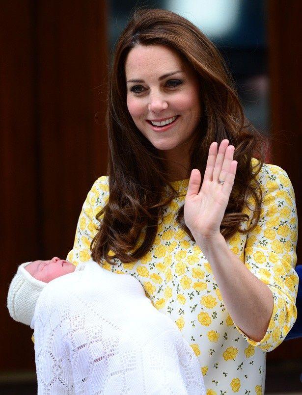 シャーロット王女は眠っているご様子!