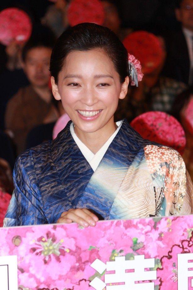 『百日紅~Miss HOKUSAI~』の主人公・お栄の声優を務めた杏