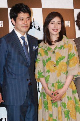 天海祐希、松山ケンイチに「大きな柱」と言われ苦笑