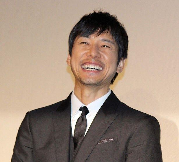 息のあったトークに西島秀俊も笑顔!