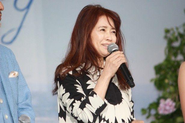 海猫食堂の店主・二ノ宮さち子役の風吹ジュン