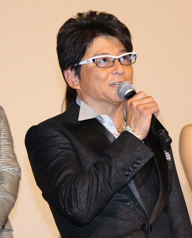 宗形博也役を演じる哀川翔