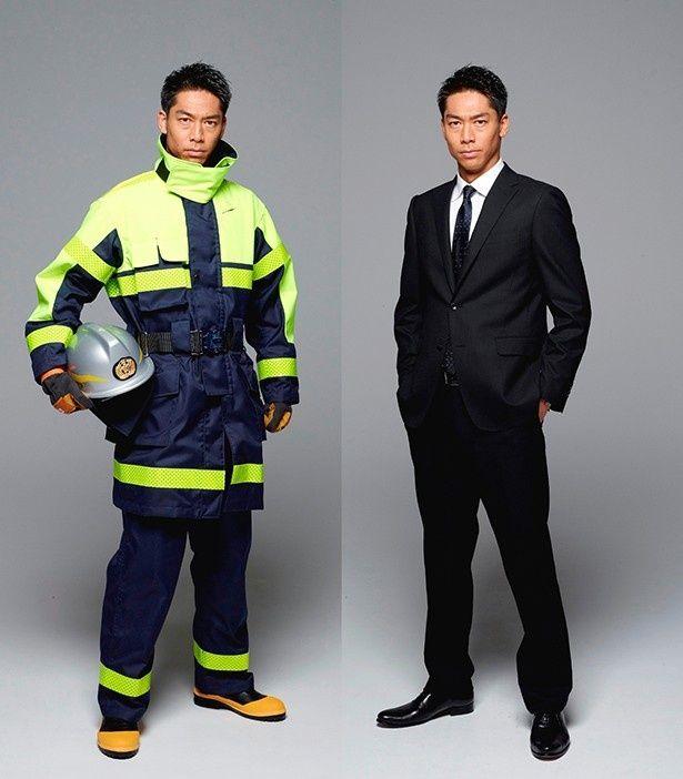 EXILEのAKIRAがドラマ「HEAT」で消防団に入団する