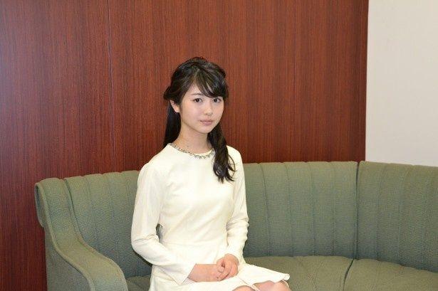 連続テレビ小説「まれ」の出演で注目を集める若手女優・浜辺美波。長澤まさみに憧れているという
