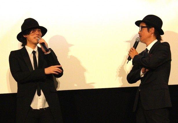 野田洋次郎とリリー・フランキーのやりとりに会場も大爆笑