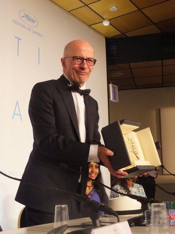 第68回カンヌ国際映画祭でパルム・ドールを受賞したジャック・オディアール監督