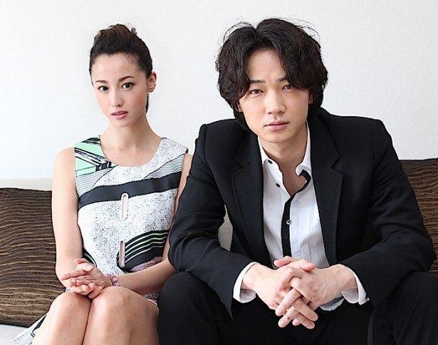 綾野剛と沢尻エリカ、『新宿スワン』の現場を明かす!